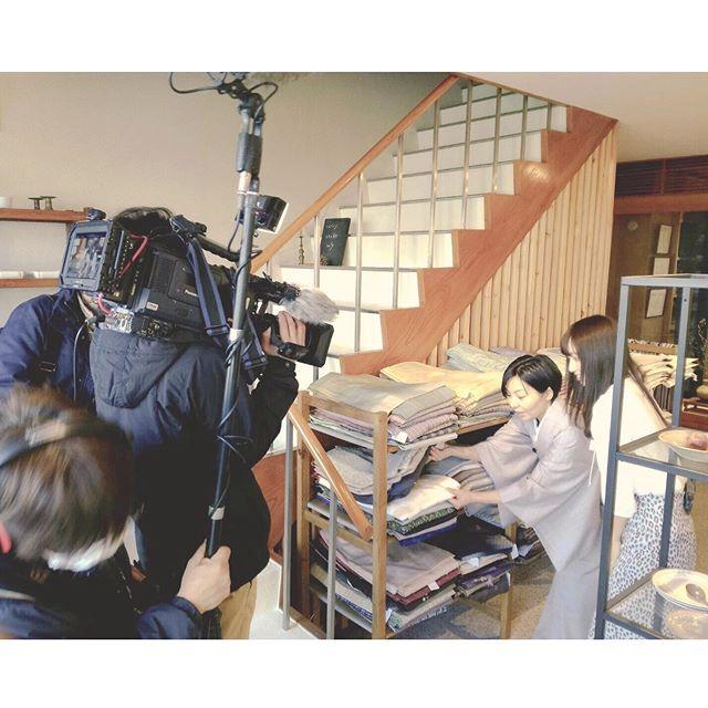 明日2/15(土)、9:25から瀬戸内放送で和の風情を楽しむ、という特集の中で当店を取り上げてもらいました・岡山、香川の皆様お時間あればご覧くださいー!